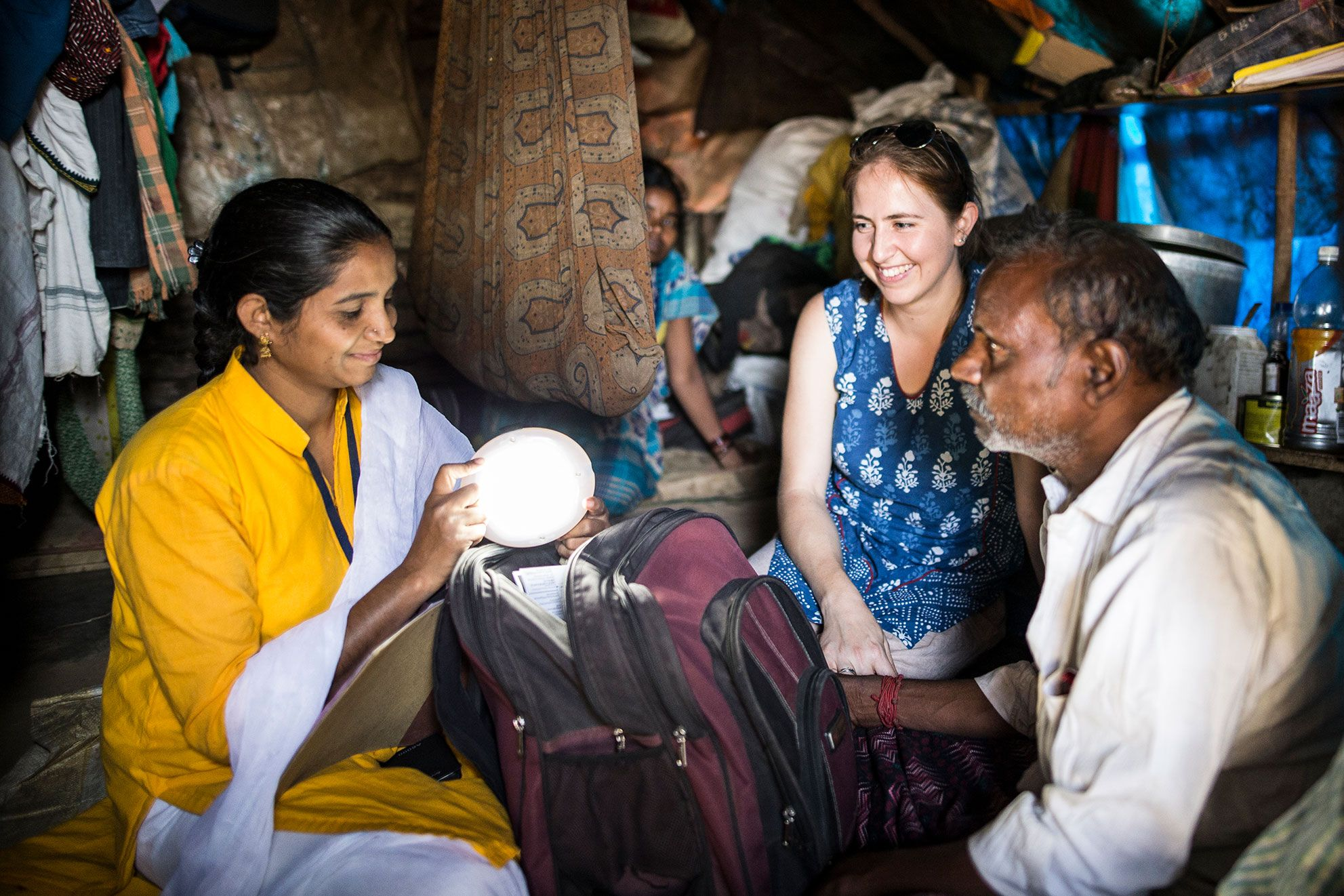 Empowering women to sell solar energy in India's unelectrified communities