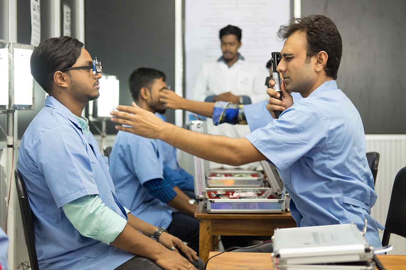 Promoting affordable vision correction services to rural populations in Bangladesh