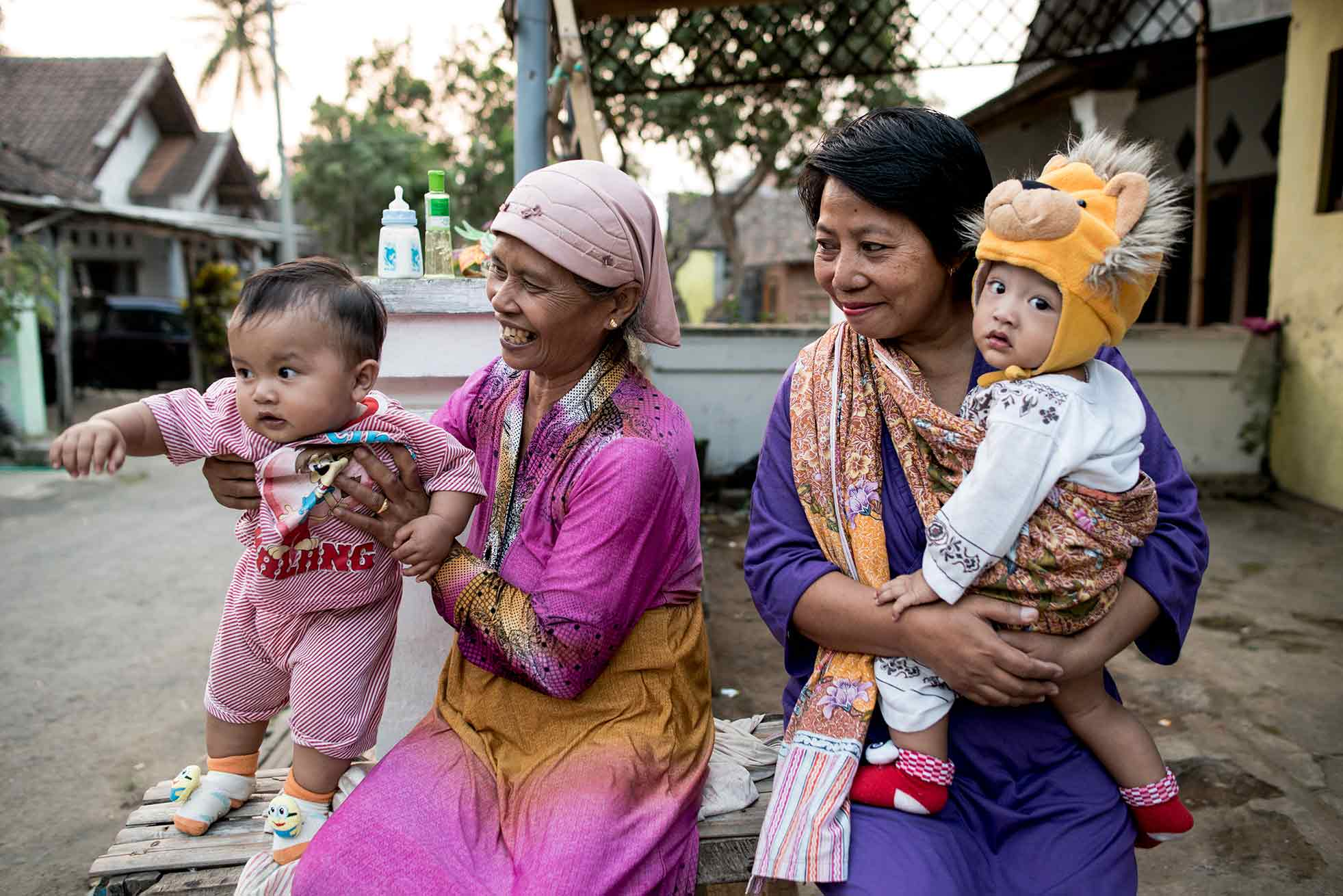 Improving child nutrition in Indonesia