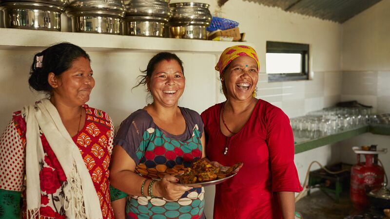 Community-based ecotourism venture in Nepal