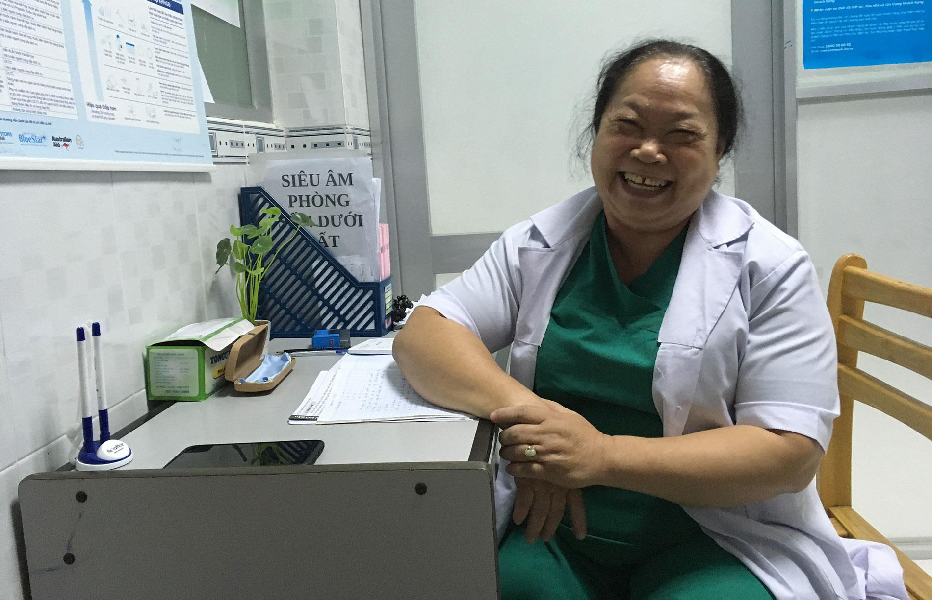 Improving access to critical health services for women factory workers in Vietnam
