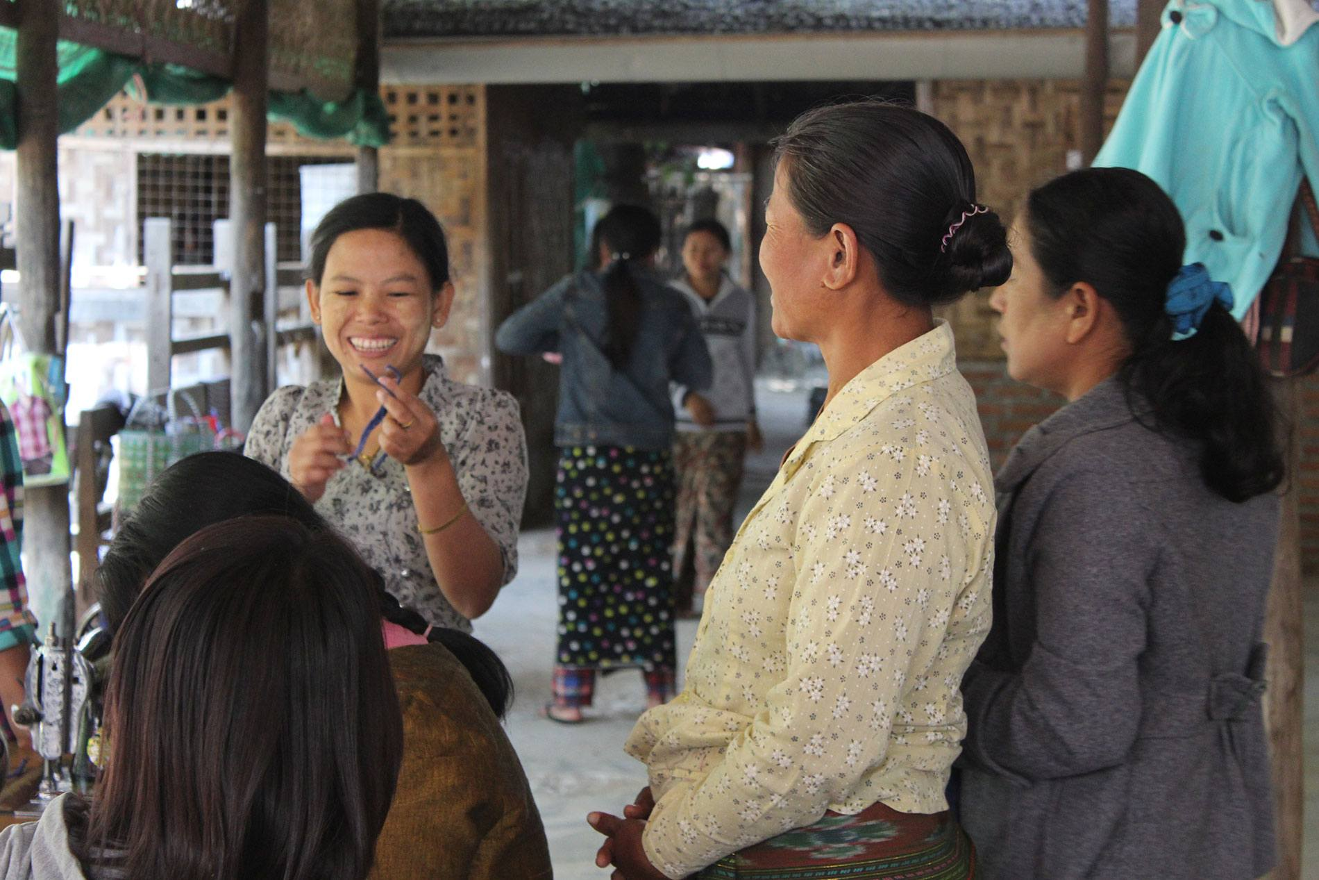 Linking ethical fashion enterprises in Myanmar to global markets