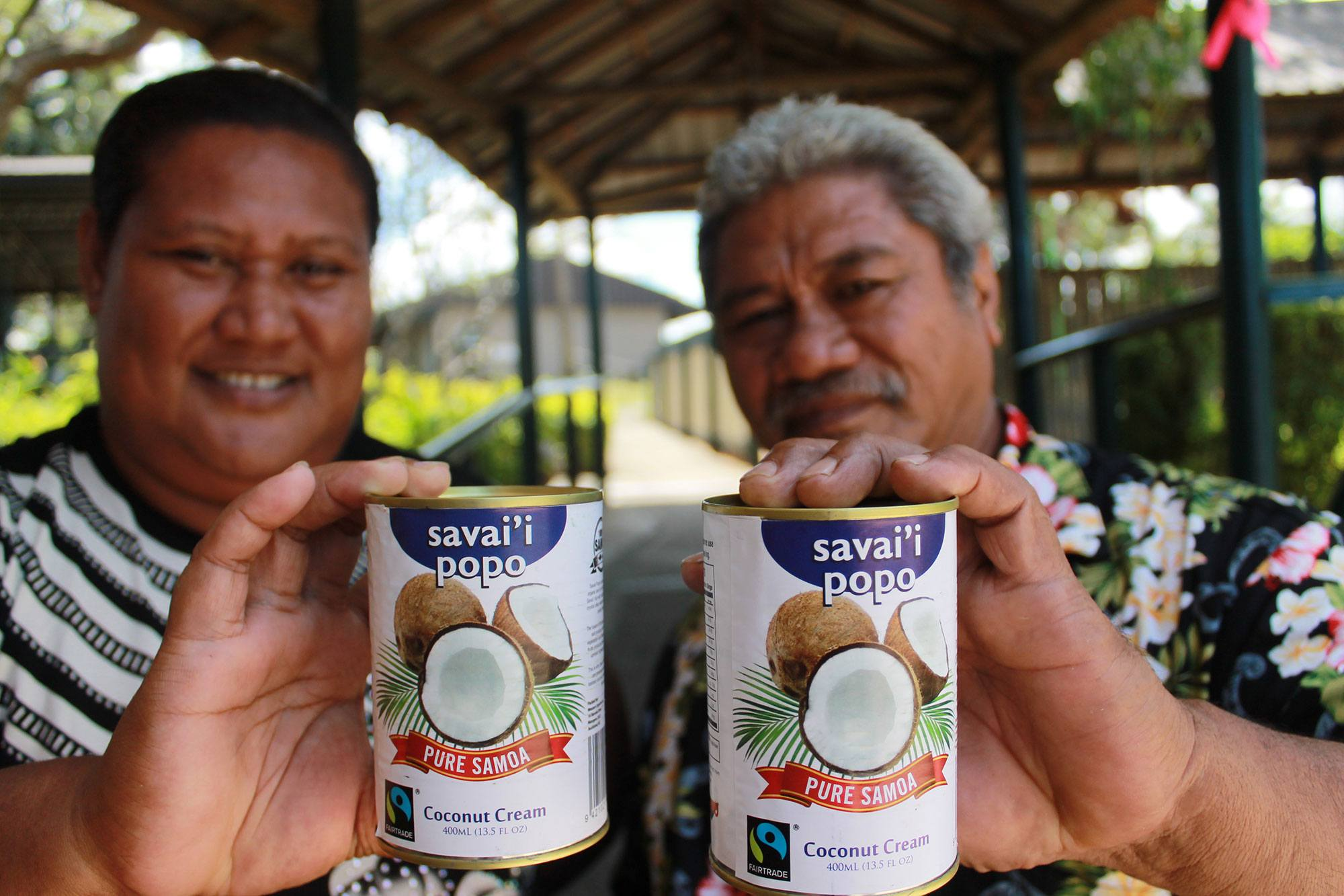 Improving access to markets for smallholder coconut farmers in Samoa
