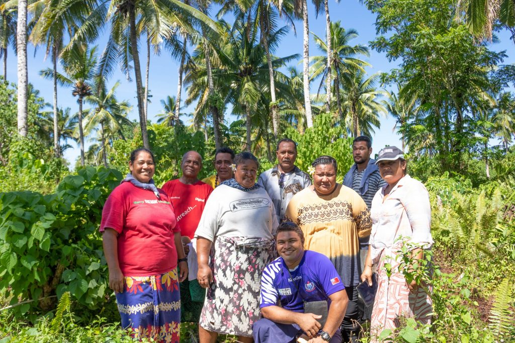 Coconut Farmers in Samoa