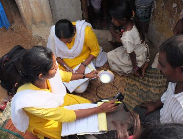 Pollinate Group India Women Serving Customers