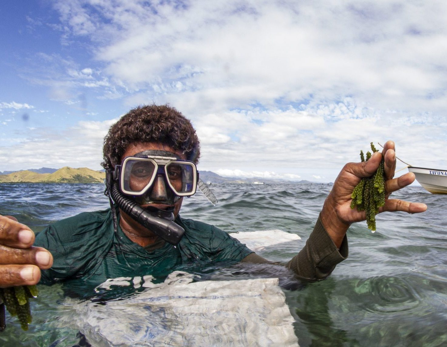 Sustainable Seaweed Production in Fiji