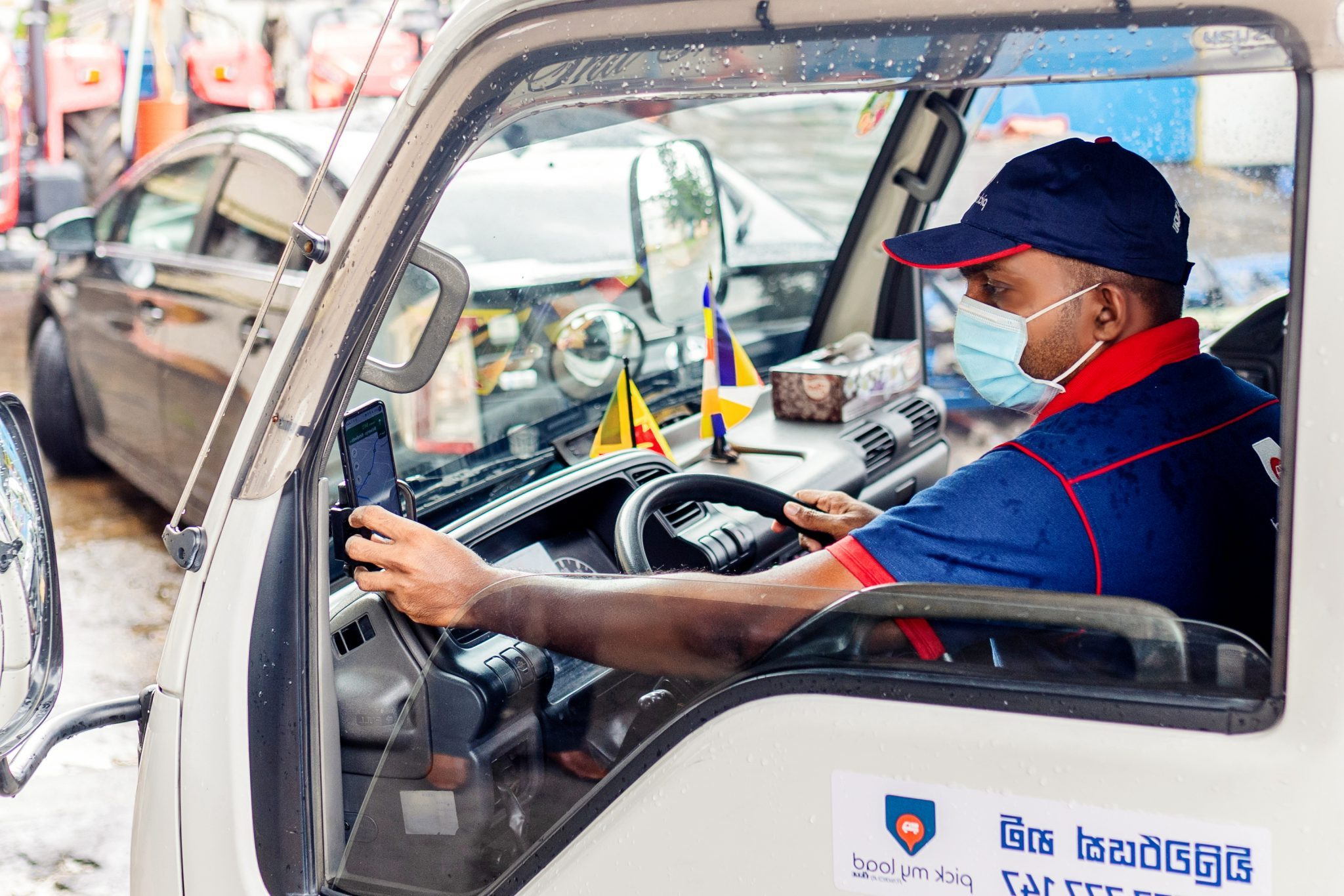 Connecting commercial drivers to customers in rural Sri Lanka