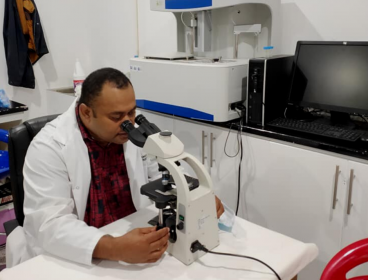 Supporting a new pathology lab in Samoa